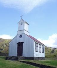 Kirkjur og kirkjugarðar